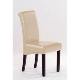 Jídelní židle NERO, wenge/béžová