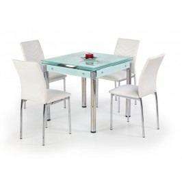Smartshop Jídelní stůl rozkládací KENT, mléčné sklo