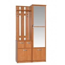 MORAVIA FLAT Předsíň BARCELONA 100 LUX se zrcadlem, barva: