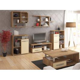 Obývací pokoj ANGEL 1, craft zlatý/krém