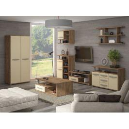 Obývací pokoj ANGEL 5, craft zlatý/krém