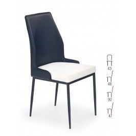 Židle K199, černá-bílá