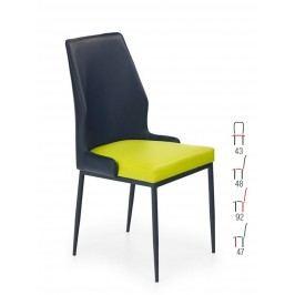 Židle K199, černá-zelená