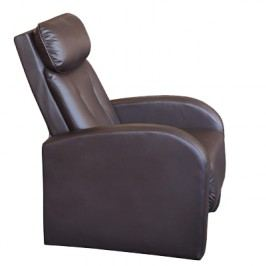 Relaxační křeslo Toledo K73, hnědá