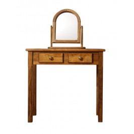 MAGNAT Toaletní stolek, masiv borovice/moření dub