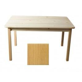 Stůl 120 x 60 cm nr.1, masiv borovice/moření olše