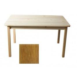 Stůl 120 x 75 cm nr.1, masiv borovice/moření dub
