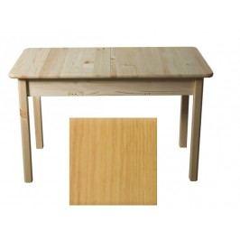 Stůl 120/170 x 80 cm nr.8, masiv borovice/moření olše