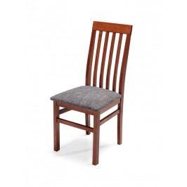 Čalouněná jídelní židle QUEEN PLUS, třešeň