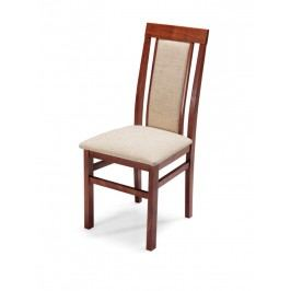MATIS Čalouněná jídelní židle QUEEN LUX, třešeň