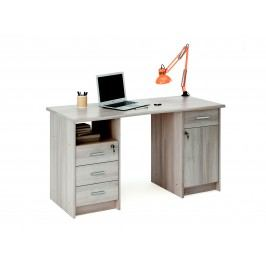 MONAKO, psací stůl, dub shannon