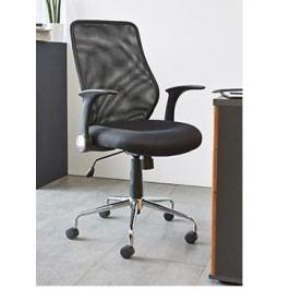 DEMEYERE SERF, kancelářské křeslo, černá