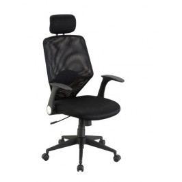 GALEON, kancelářské křeslo, černá