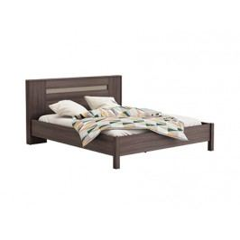 GIORGIA, postel 180x200 cm, dub vulcano/čedič