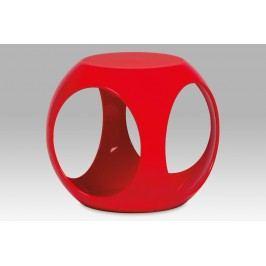 Autronic Taburet, plast červený HF-710 RED