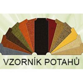 Sedák + opěrák - látka S2 typ lantali/hyacint/vilnius:
