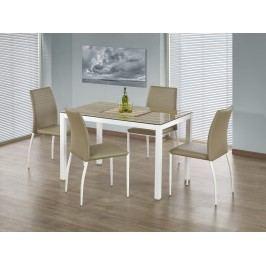 Halmar TIMBER jídelní stůl, dub sonoma/bílá