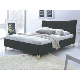 Halmar Postel SANDY 160x200 cm, černá