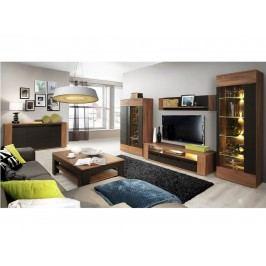 Forte LATINA obývací pokoj, dub sangallo/dub černý
