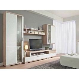 TOGGO kombi 01 obývací pokoj, dub bardolino/bílá