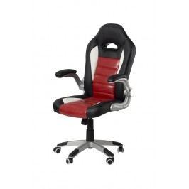Smartshop Kancelářské křeslo ADK GREMO, černá + červená ekokůže