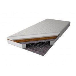 MAGNAT Pružinová matrace PALMEA 140x200 cm s kokosem, potah jersey neprošívaný