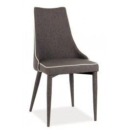 Smartshop Jídelní čalouněná židle SOREN sv. hnědá látka