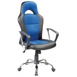 Smartshop Kancelářské křeslo Q-033 černá/modrá