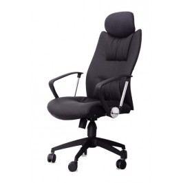 Kancelářská židle Q-091 černá ekokůže