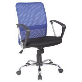 Smartshop Kancelářská židle Q-078 modrá/černá