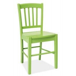 Smartshop Jídelní dřevěná židle CD-57, zelená