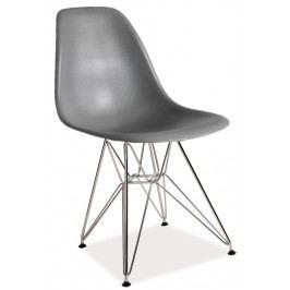 Jídelní židle LINO, šedá
