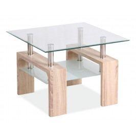 Smartshop Konferenční stolek LISA D, dub sonoma