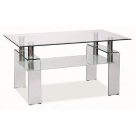 Smartshop Konferenční stolek STELLA - čirá