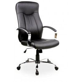 Smartshop Kancelářské křeslo Q-052 - černá ekokůže