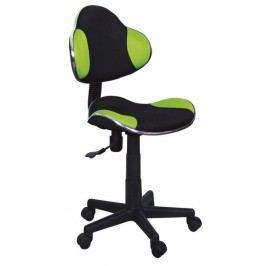 Smartshop Kancelářská židle Q-G2 černá/zelená
