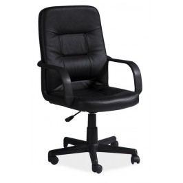 Kancelářské křeslo Q-084 černá ekokůže