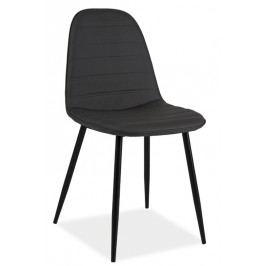 Smartshop Jídelní čalouněná židle TEO B šedá