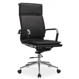 Smartshop Kancelářské křeslo Q-253 černá ekokůže