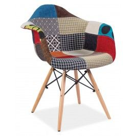 Smartshop Jídelní židle DENIS A, patchwork