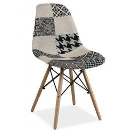 Jídelní židle SIMON B, patchwork