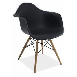 Jídelní židle MONDI, černá