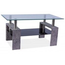 Smartshop Konferenční stolek LISA II, šedý kámen