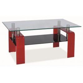Smartshop Konferenční stolek STELLA - červený