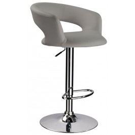 Barová židle KROKUS C-328, šedá