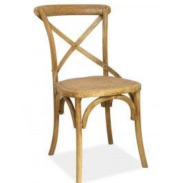 Smartshop Jídelní dřevěná židle LARS, buk