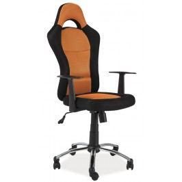 Smartshop Kancelářské křeslo Q-039 oranžová