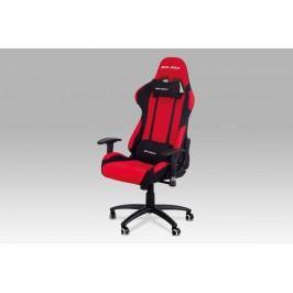 Kancelářská židle KA-F01 RED, červená