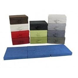 Skládací matrace pro hosty Tom, modrá