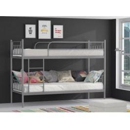 ORFA MIX MARAT patrová postel, šedá